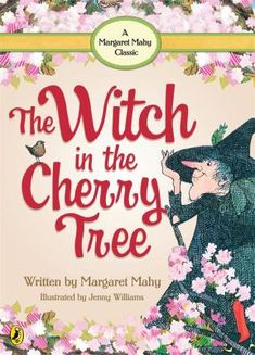 I chose this book because the it has lots of rhyming words and very interactive with children. Therefore many children enjoy reading it. Mahy, M. The Witch in the Cherry Tree. Dent & Sons Ltd. Margaret Mahy, World Of Books, Cherry Tree, Children's Literature, Child Love, Kids Reading, Painting For Kids, Beautiful Children, Childrens Books