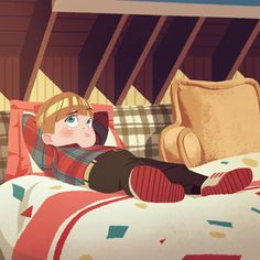 <Study - Home Alone> Illustration by Donghyun Lim Cartoon Drawings, Cartoon Art, Character Concept, Concept Art, Animated Love Images, Home Alone, Character Design Animation, Children's Picture Books, Children's Book Illustration