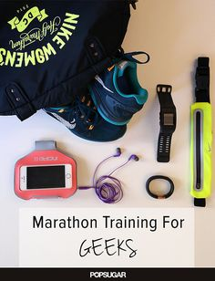 All the gadgets that support your marathon training. #gadgets