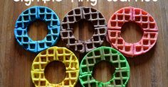 *Random Thoughts of a SUPERMOM!*: Olympic Ring Waffles