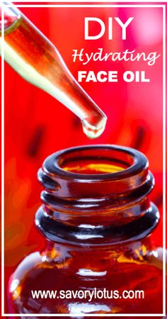 DIY Hydrating Face Oil