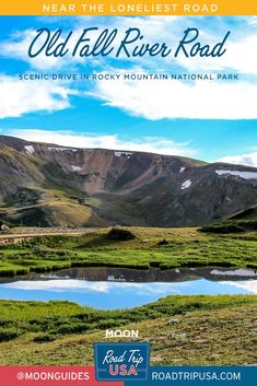 Plan a scenic drive through Rocky Mountain National Park along Old Fall River Road to explore the park's biodiversity. #colorado #nationalparks