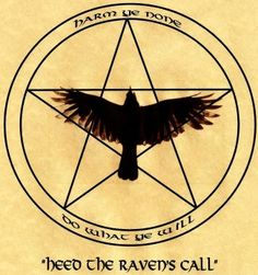Raven pentacle