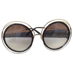 33ef9439bae42d gold Plain Metal CHLOÉ Sunglasses - Vestiaire Collective Lunettes Chloé,  Lunettes De Soleil Surdimensionnées,