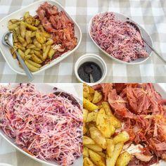 Kyra@Home: Pulled Pork met Home made Coleslaw