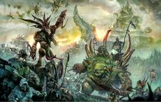 http://wellofeternitypl.blogspot.com Age of Sigmar Artwork | Skaven Verminlord…