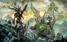 http://wellofeternitypl.blogspot.com Age of Sigmar Artwork | Skaven Verminlord and Glottkin Nurgle | #artwork #art #aos #warhammer #ageofsigmar #sigmar #arts #artworks #gw #gamesworkshop #wellofeternity #wargaming