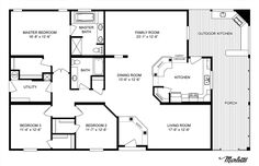 Clayton Homes   Home Floor Plan   Manufactured Homes, Modular Homes, Mobile Home--more ideas