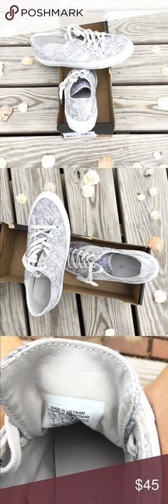 Brand New, Never Worn, Converse Sneakers. Brand New, Never Worn, Converse Sneakers. Ladies Size 7, Dolphin Grey and White in Color. Converse Shoes Athletic Shoes