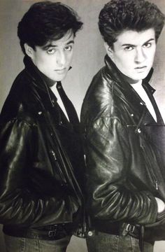 Wham-George Michael and Andrew Ridgeley I Want A Hug, 20th Century Music, Andrew Ridgeley, George Michael Wham, Michael Love, Pop Music, My Photos, Photo Editing, Best Friends