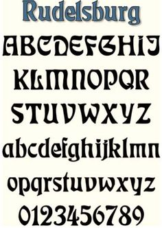 how to make a gothic first letter