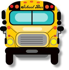 yellow school bus for guided drawing lesson clip art love rh pinterest com Rosa Parks Favorite Flower Rosa Parks Favorite Flower