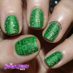 Circuit board nails