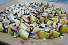 Apple Nachos...YUM!