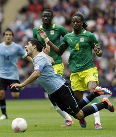 Senegal vs Uruguay, Group A - Soccer Slideshows (Photo: Associated Press) #NBCOlympics
