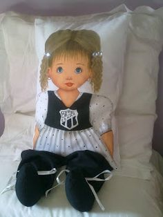 Artesanato da Vovó Querida ALTAIR: Travesseiro Boneca