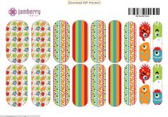 DIY your own nail wrap designs - my Akron DIY Fashion   Examiner.com article about Jamberry Nail Art Studio #custom nails