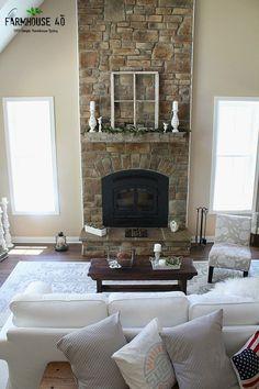 Bright, airy & neutral farmhouse style summer home decor