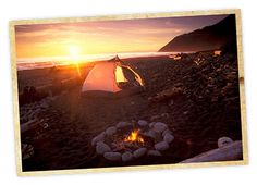 Lost Coast camping