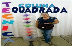 Como Fazer Coluna Quadrada de Balões.