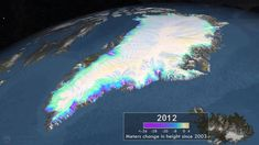 NASA | Measuring Elevation Changes on the Greenland Ice Sheet: http://youtu.be/0S4T2Q8sBW8 #globalwarming #climatechange #biosphere