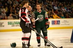 Jason Zucker at the 2013 AHL All Star Skills Competition.