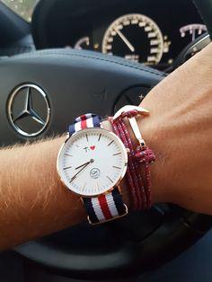 No cuentes los momentos....Vivelos  Cada segundo es un regalo de Dios, el Autor de nuestras victorias Tic Tac, Unisex, Daniel Wellington, Leather, Accessories, Second Best, Clock, Author, Jewelry Accessories