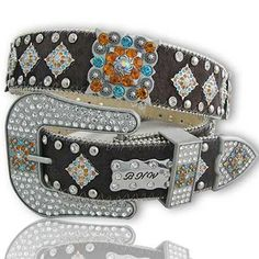 The Crazy Heifer - Brown Hide Multi Belt, $40.00 (http://www.thecrazyheifer.com/brown-hide-multi-belt/)