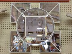 Very 70's Look Decorative White Mirror  Beveled Mirror   Great Condition  2' Square  $150  Eclectic Treasures Booth #8279  Lula B's  1010 N. Riverfront Blvd. Dallas, TX 75207  Read more: http://dallas.ebayclassifieds.com/home-decor/dallas/very-70s-look-decorative-white-mirror/?ad=27907683#ixzz2TJFOEVFP