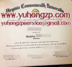 Virginia Commonwealth University degree