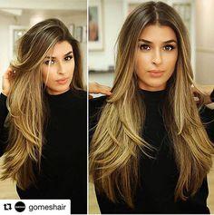 Layered Hairtyles for Long Hair, Long Hair Smooth Layered