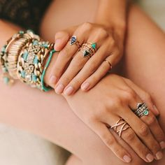 64 Ideas Jewerly Rings Boho Jewels For 2019 Boho Rings, Boho Jewelry, Jewelry Ideas, Fair Skin Makeup, Cheap Fashion, Bracelet Set, Fashion Bracelets, Jewerly, Fashion Accessories