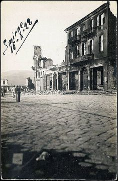 Izmir after the 1922 fire. 2d Game Background, Greek History, Family History, The Turk, Old City, Historical Photos, Old Photos, Istanbul, Greece