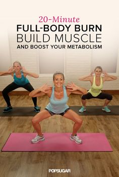 20-Minute Fat-Blasting Workout - In only 20 minutes, you can work your entire body and rev your metabolism. We will keep you moving while adding lean, calorie-burning muscle to your frame. Just grab a set of five-pound dumbbells, press play, and get ready to bring it.
