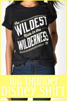 Big Thunder Mountain Inspired Disney Shirt | Disney | Disneyland | Disney World | Walt Disney | Disney Bound #Ad