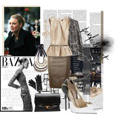 The French Way by melikey on Polyvore featuring мода, Mulberry, Moschino Cheap & Chic, Jimmy Choo, Lanvin, Harry Winston, Blue Nile, Bardot, Marni and Chanel