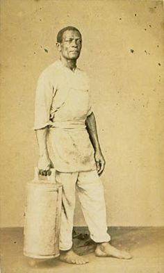 Escravo brasileiro, 1865. Sem dados de origem/Domínio público    In :: Identidade 85: Ainda 13 de maio - fim da escravidão: imagens de outras épocas