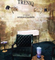 Beautiful Treniq stand! Decorex international London design festival 2016 London trade shows #luxuryfurniture #decorexexhibitors #londondesignweek See the latest news about Decorex 2016 in: http://www.londondesignagenda.com/