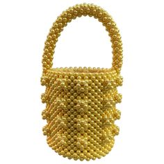 Buy your antonia handbag Shrimps on Vestiaire Collective, the luxury consignment store online. Second-hand Antonia handbag Shrimps Yellow in Synthetic available. Golden Yellow, Mellow Yellow, Luxury Consignment, Fashion Boots, Color Inspiration, Straw Bag, Hiking Boots, Handbags, Pearls