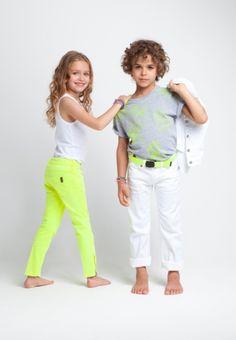 Moda infantil. Colores Cítricos Smallable