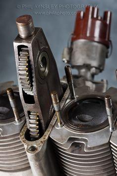Racing Cafè: Engines - MV Agusta 750 GT 1973