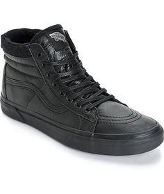 5a52d3ca2ace77 Vans Sk8-Hi MTE Leather Skate Shoes