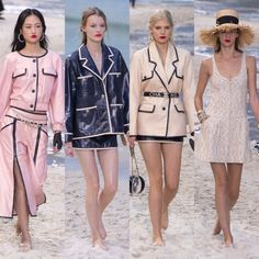 Chanel – Ready to Wear – Passarelando Fashion Week 2018, Chanel, Cruise, Ready To Wear, Cover Up, Beach, How To Wear, Dresses, Beach Scenery