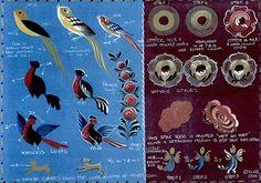 Reference Sheets - Hindeloopen Folk Art
