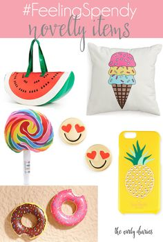 #FeelingSpendy: Novelty Items   The Curly Diaries