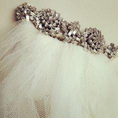 swarovski crystal bridal hair comb