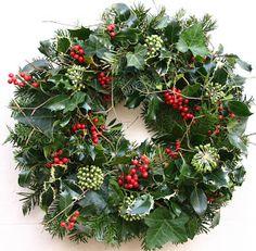 Christmas Door Wreaths in Brighton Christmas Door Wreaths, Holiday Wreaths, Christmas Crafts, Christmas Ornaments, Holiday Decor, Christmas Makes, Rustic Christmas, Christmas Arrangements, Deco Floral