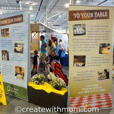 Learning about Farming at the Indoor CNE Farmers Feed Cities #ontario #canada http://www.createwithmom.com/2013/09/learning-about-farming-at-indoor-cne.html