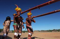 Índios Amazônia rito