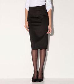 Falda de tubo neopreno #moda #venca